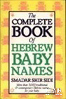 Complete Book of Hebrew Baby Names