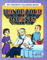 My Favorite Coloring Book: Honoring Your Parents